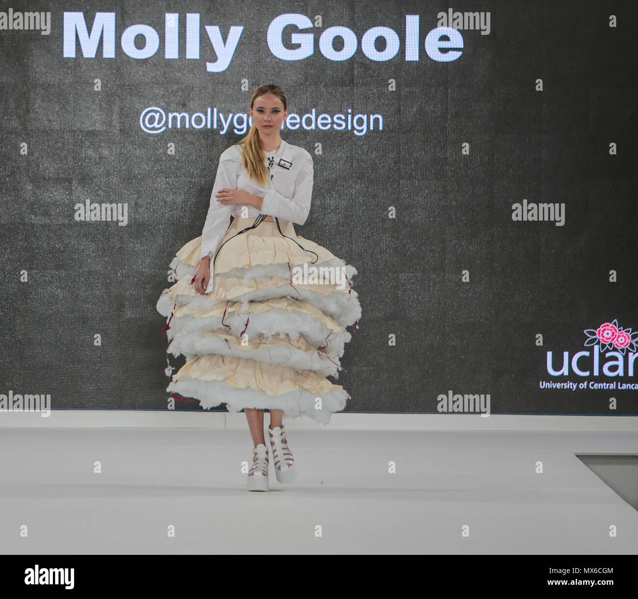 London Uk 03 June 2018 Graduate Fashion Week The Largest Showcase Of Ba Fashion In The World With Over 35 Uk Universities And Colleges On Show Representing The Future Of Creative Design Talent