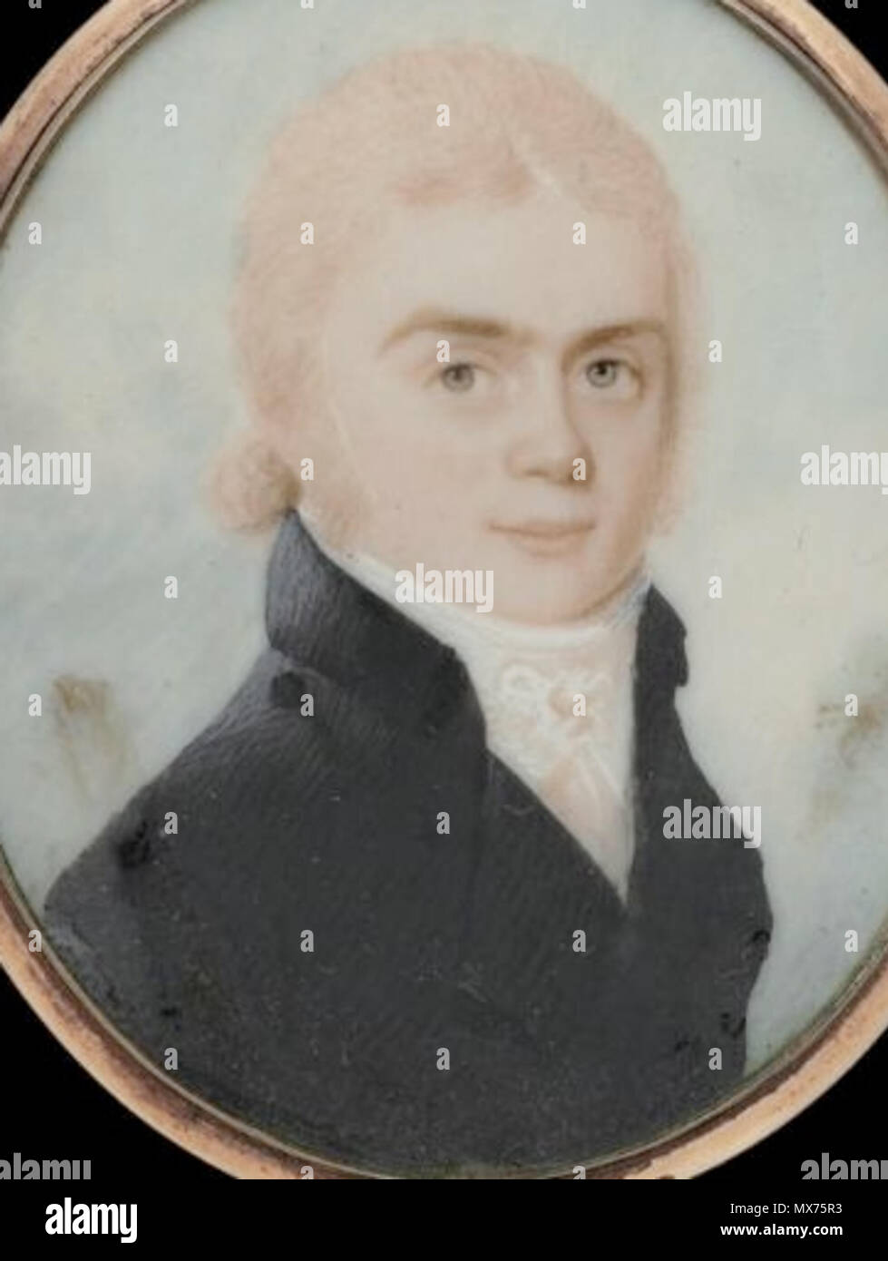 Captain Nathaniel West  about 1790–1800  Possibly by: William Lovett