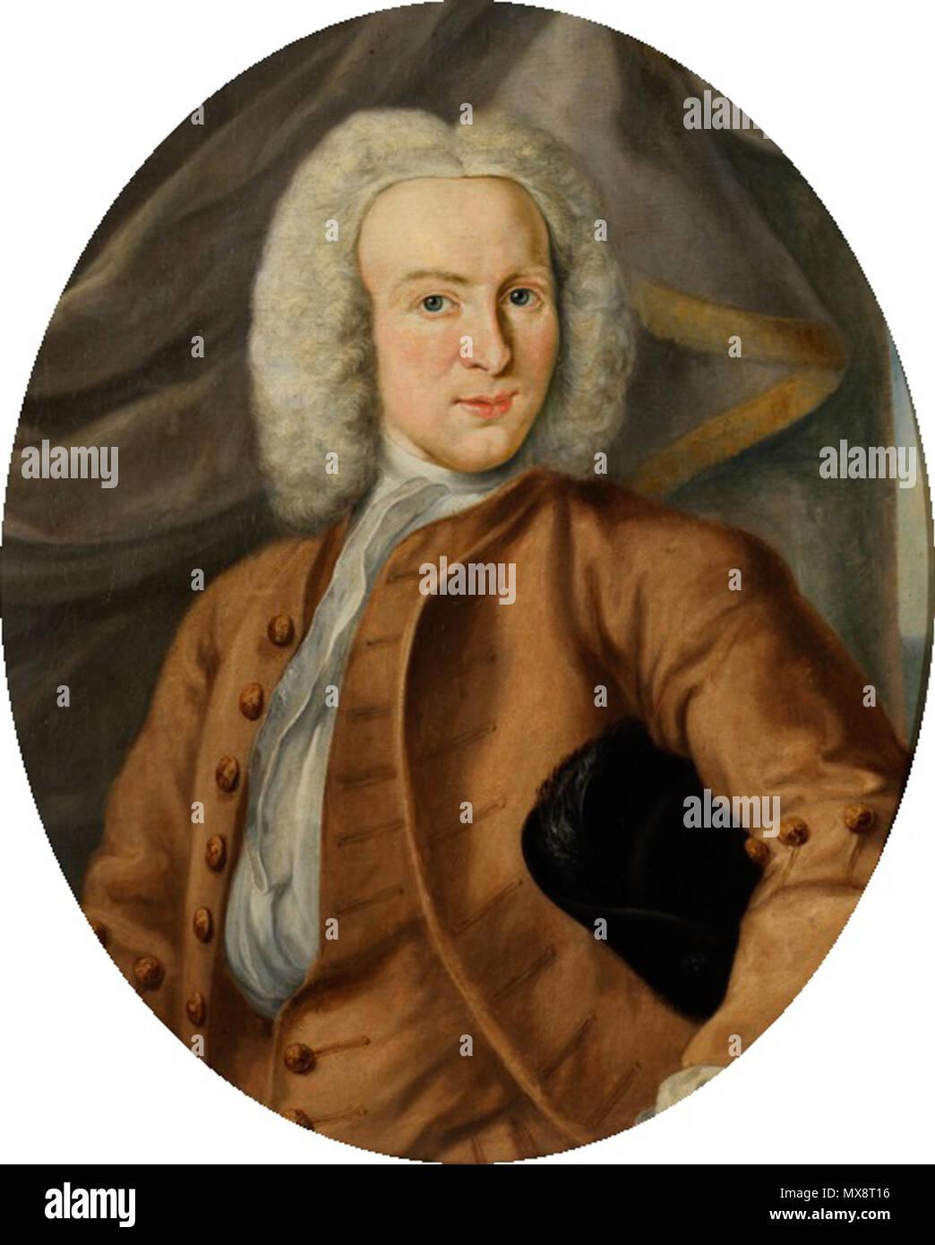 . Nederlands: Reint Jan Lewe van Middelstum . 1740. Johannes Antiquus (1702-1750) 320 Johannes Antiquus - Reint Jan Lewe van Middelstum - Stock Image
