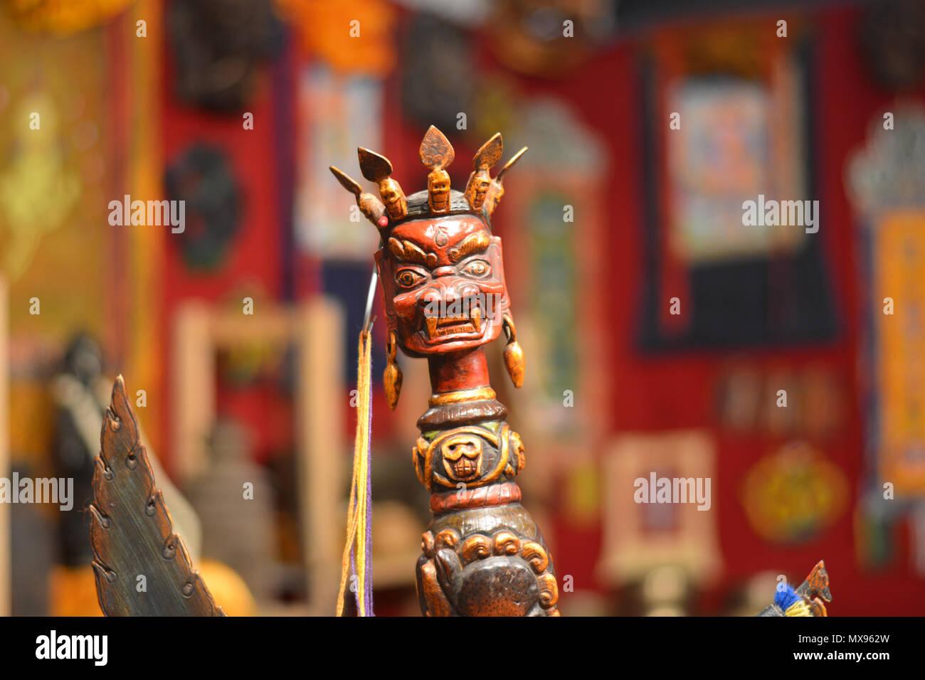 Hindu deities - Stock Image