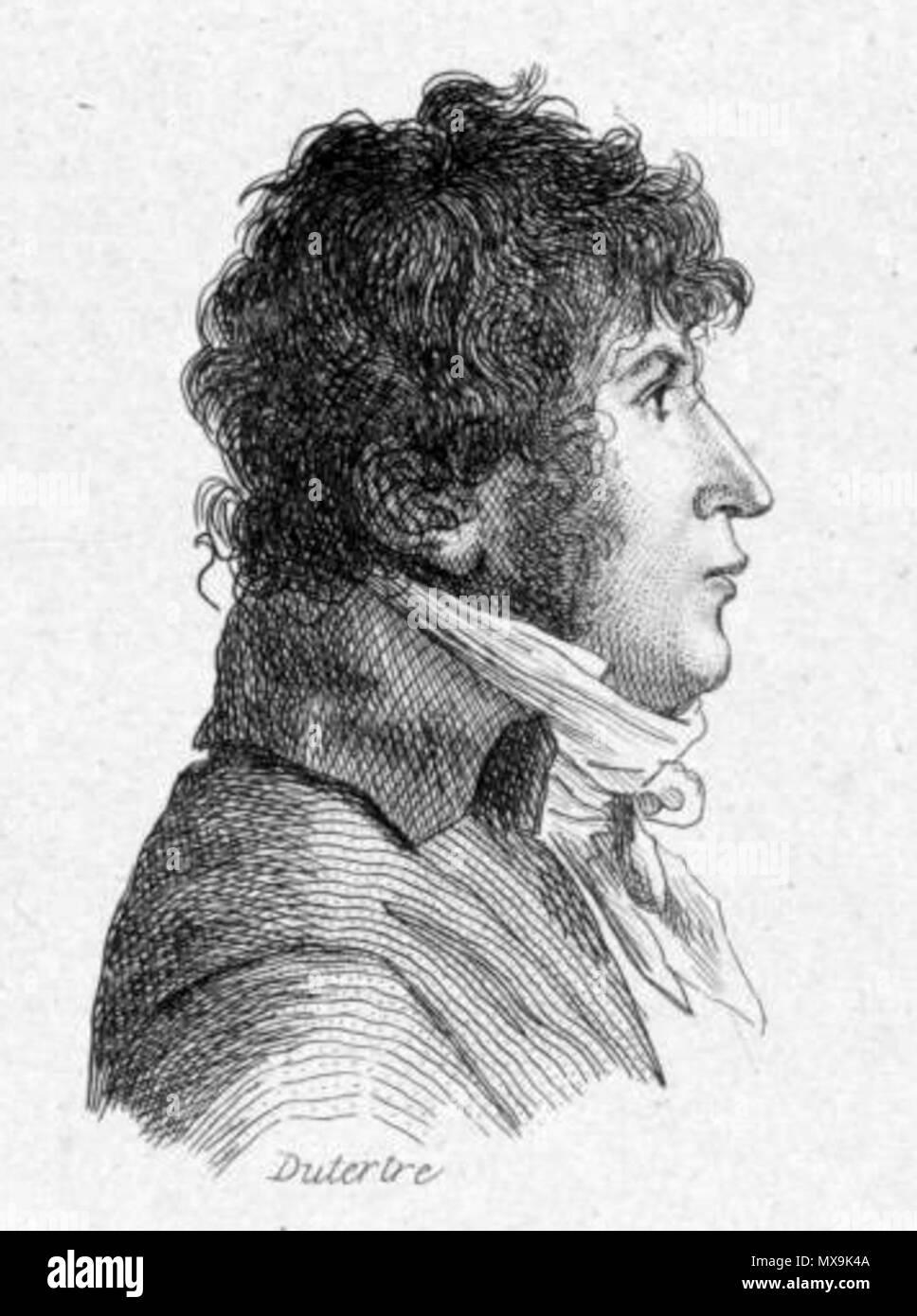 273 Henri-Joseph Rigel by André Dutertre - Stock Image