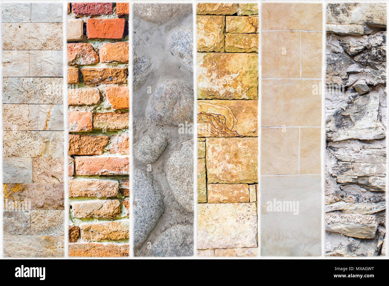 White Ceramic Tile With 24 Squares In Rectangular Form Stock Photo