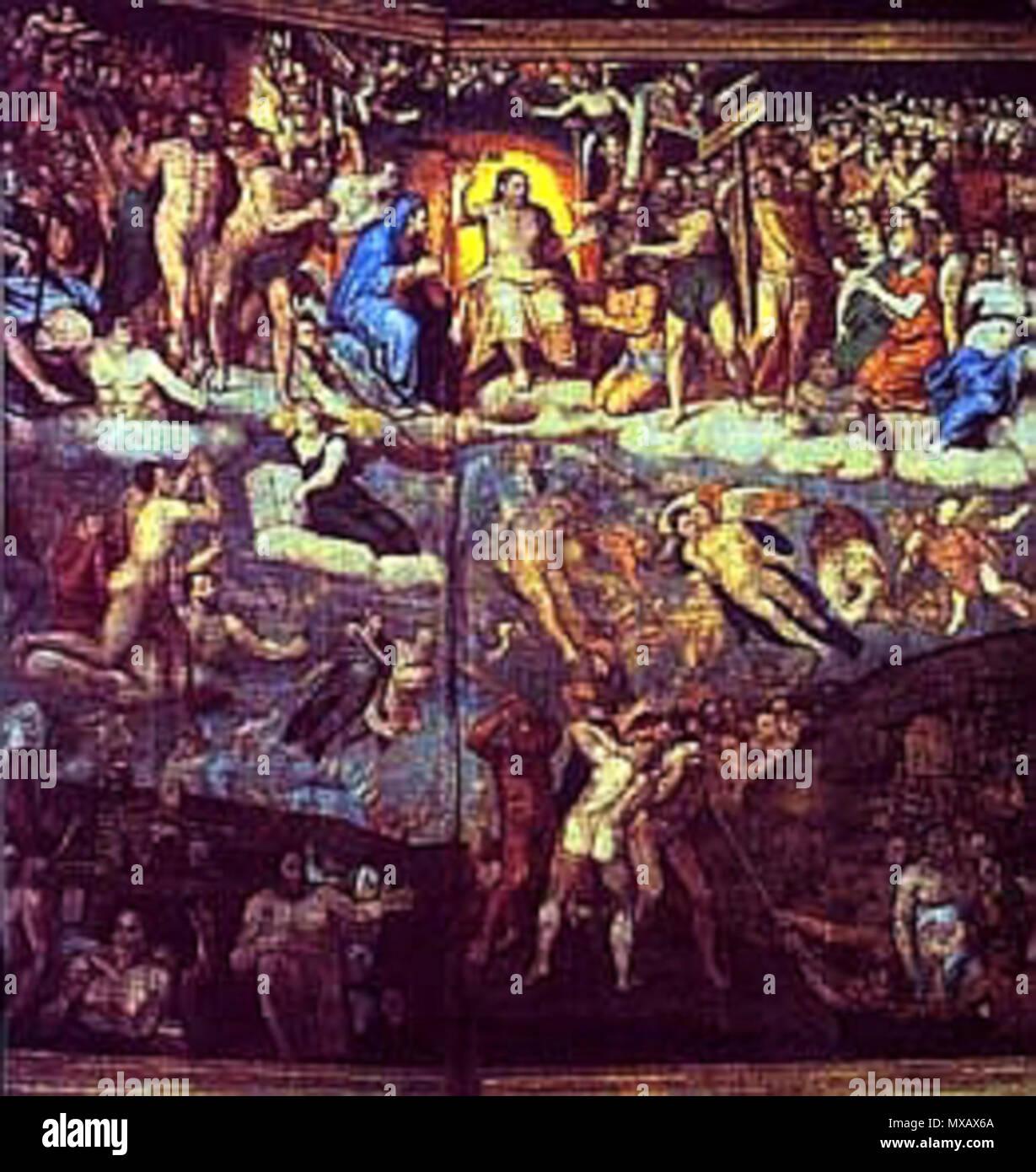 ba36d23a4f Juicio Final de la iglesia de Ibdes . hacia 1565