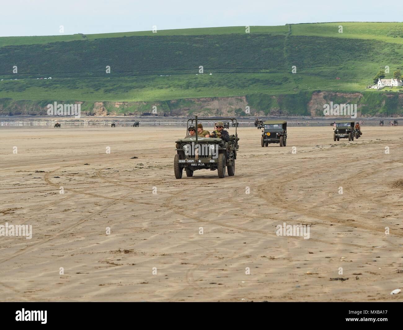 Saunton Beach D Day