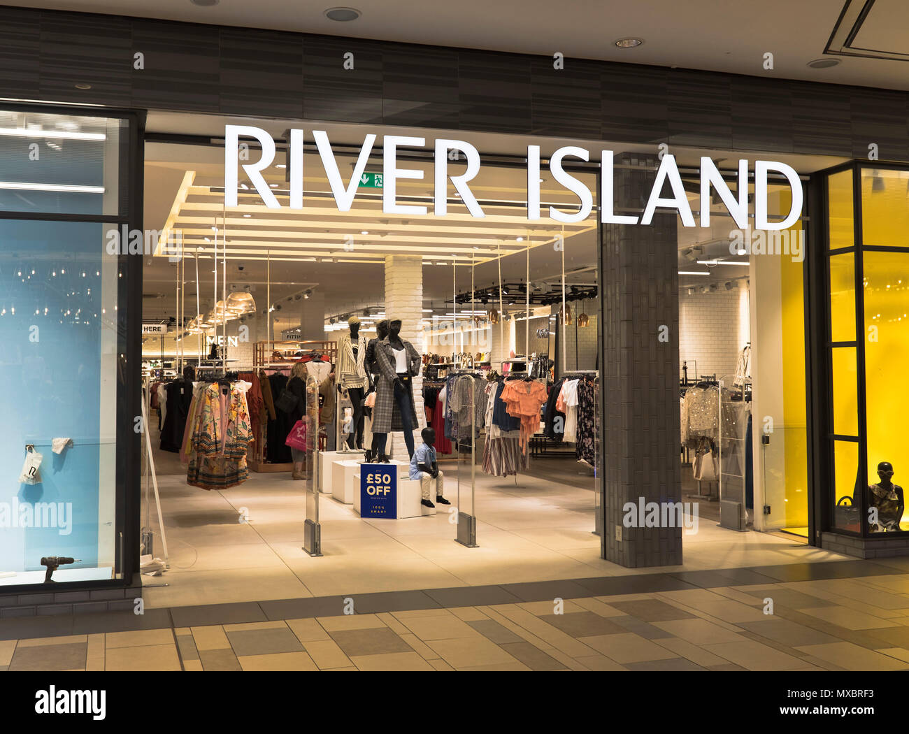 1d73685aaa9 dh River Island store SHOPS UK Aberdeen Shop Union Square clothing shops  front clothes
