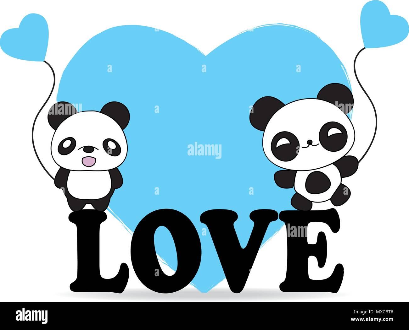 Cartoon Illustration Fat Panda Bear Stock Photos Cartoon