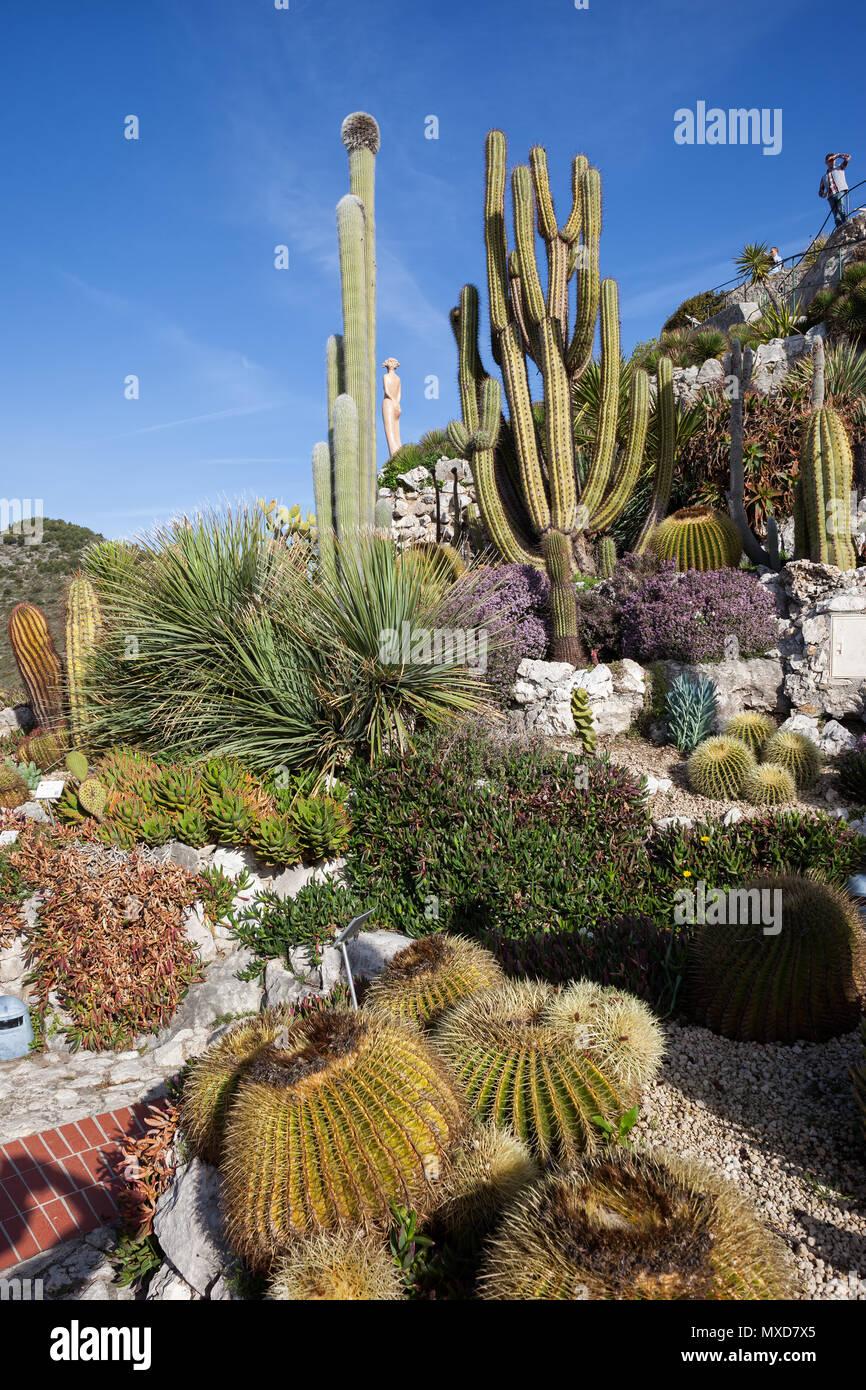 Botanical Garden - Jardin Exotique in Eze Village, France, French ...