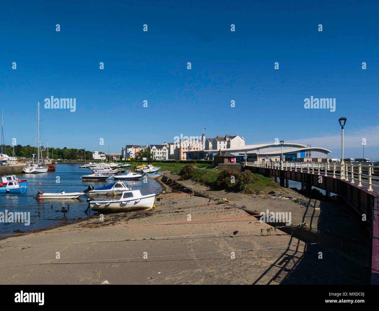 Ramsey harbour stock photos ramsey harbour stock images alamy for Ramsey swimming pool isle of man