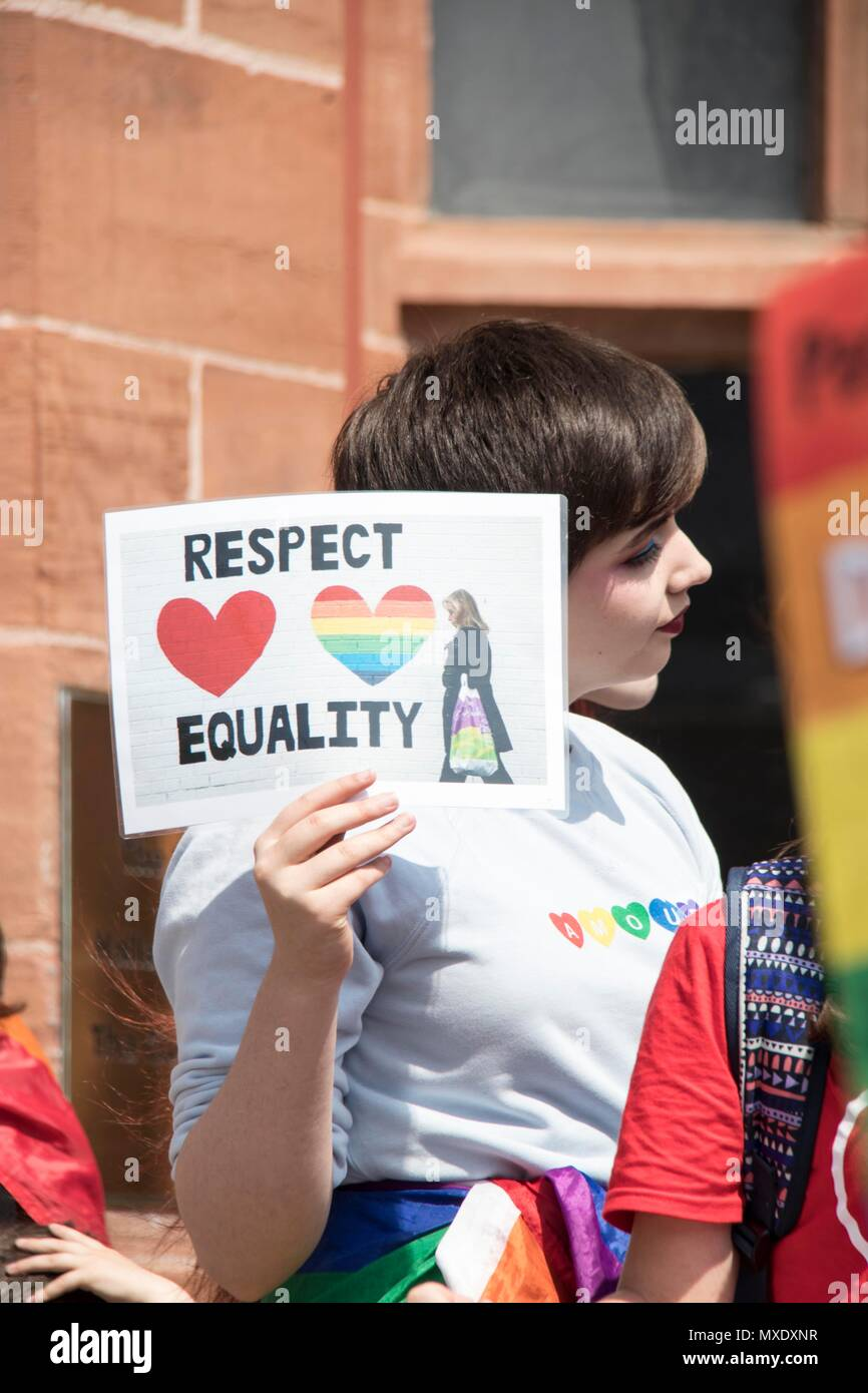 Respect Equality - Stock Image