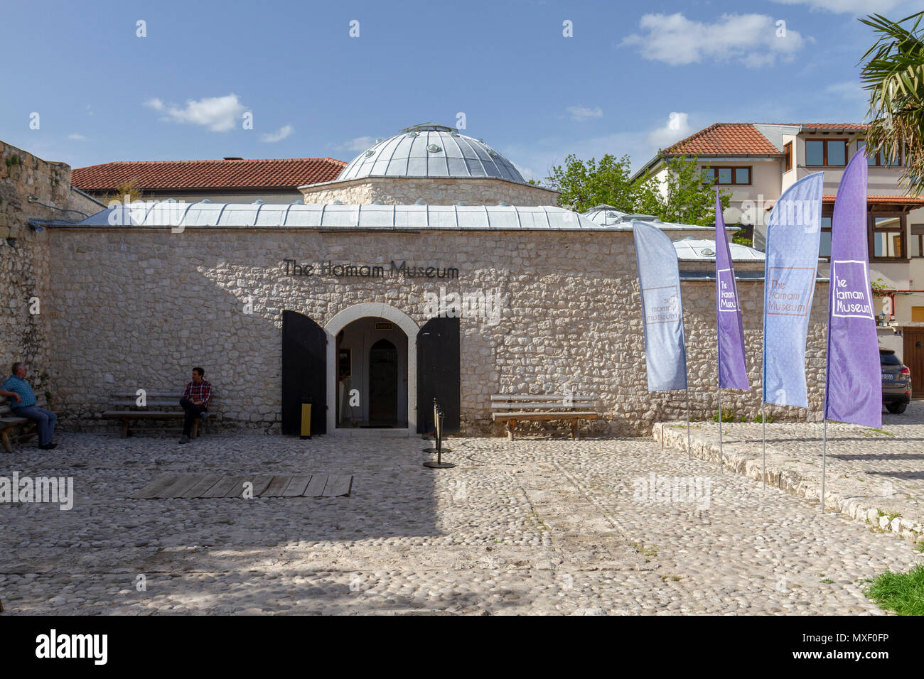 The Hamam Museum in Mostar, the Federation of Bosnia and Herzegovina. - Stock Image
