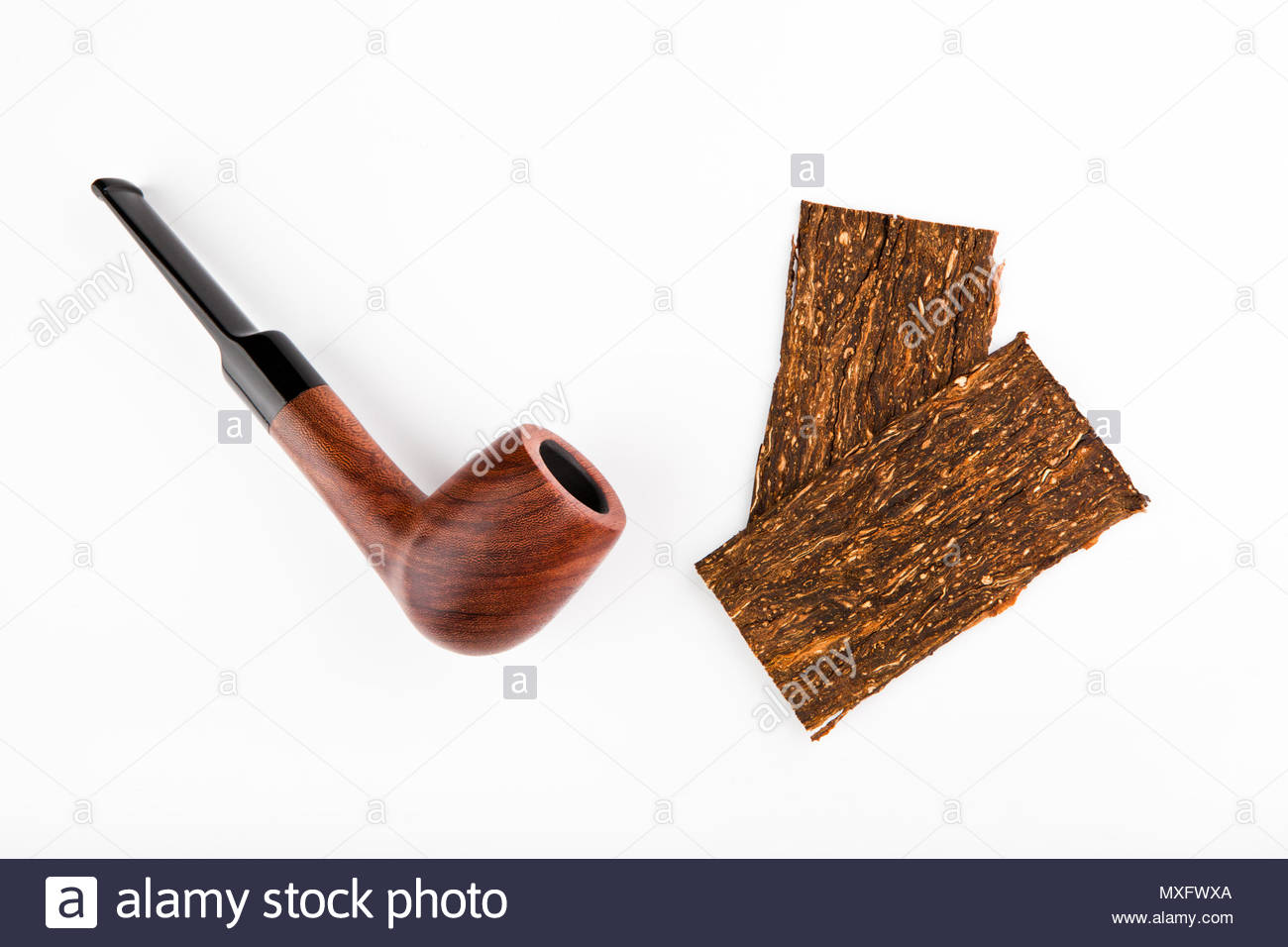 Old Man Smoking Pipe Cut Out Stock Images & Pictures - Alamy