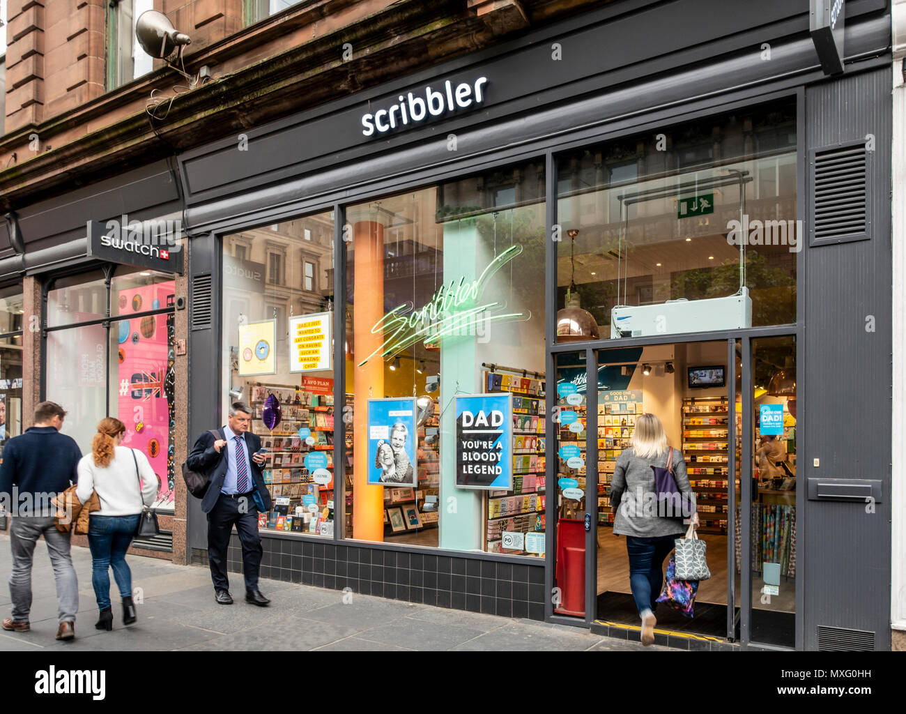 Branch Of Scribbler An Edgy Modern Greetings Cards Shop On