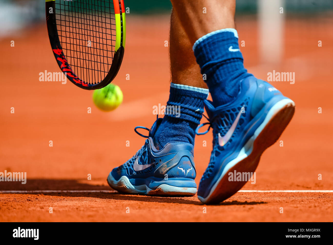 ParisFrance4th during Nadal Spain June2018Rafael of HeW29EDIY