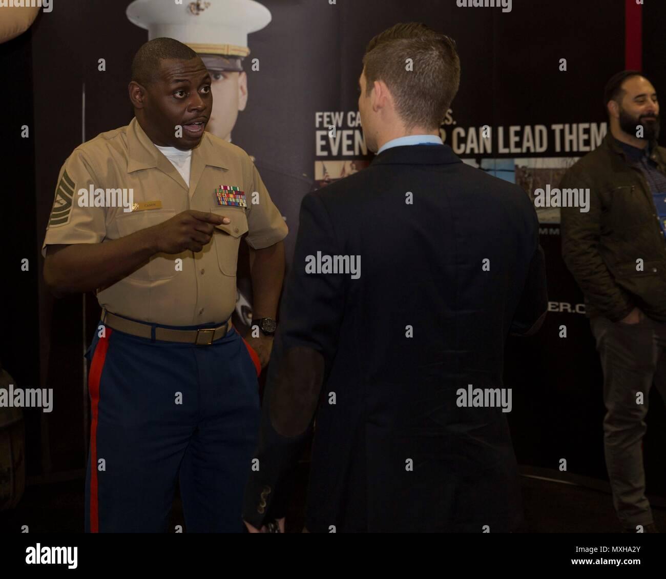 Master Sgt  Damian Cason, Diversity Chief, Marine Corps
