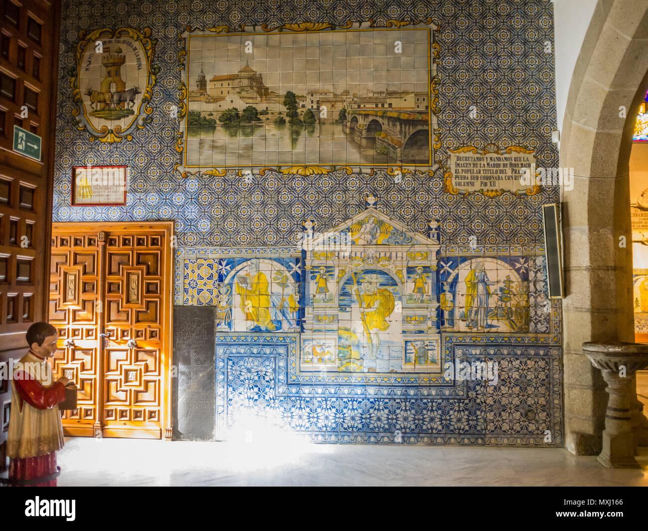 Spain castilla la toledo ceramic stock photos spain for Calle prado 8 talavera dela reina