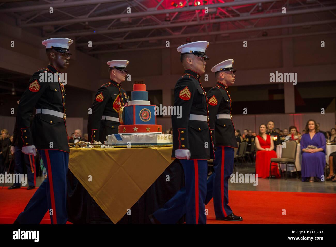 Us Marines With Headquarters Battalion 2d Marine Division 2d