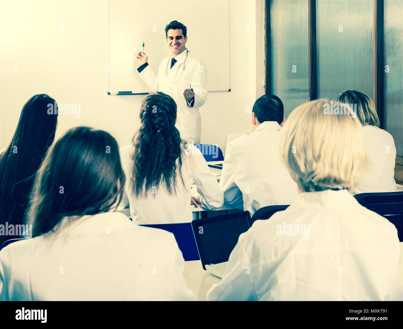 adult health-care workers during educational program in medical school