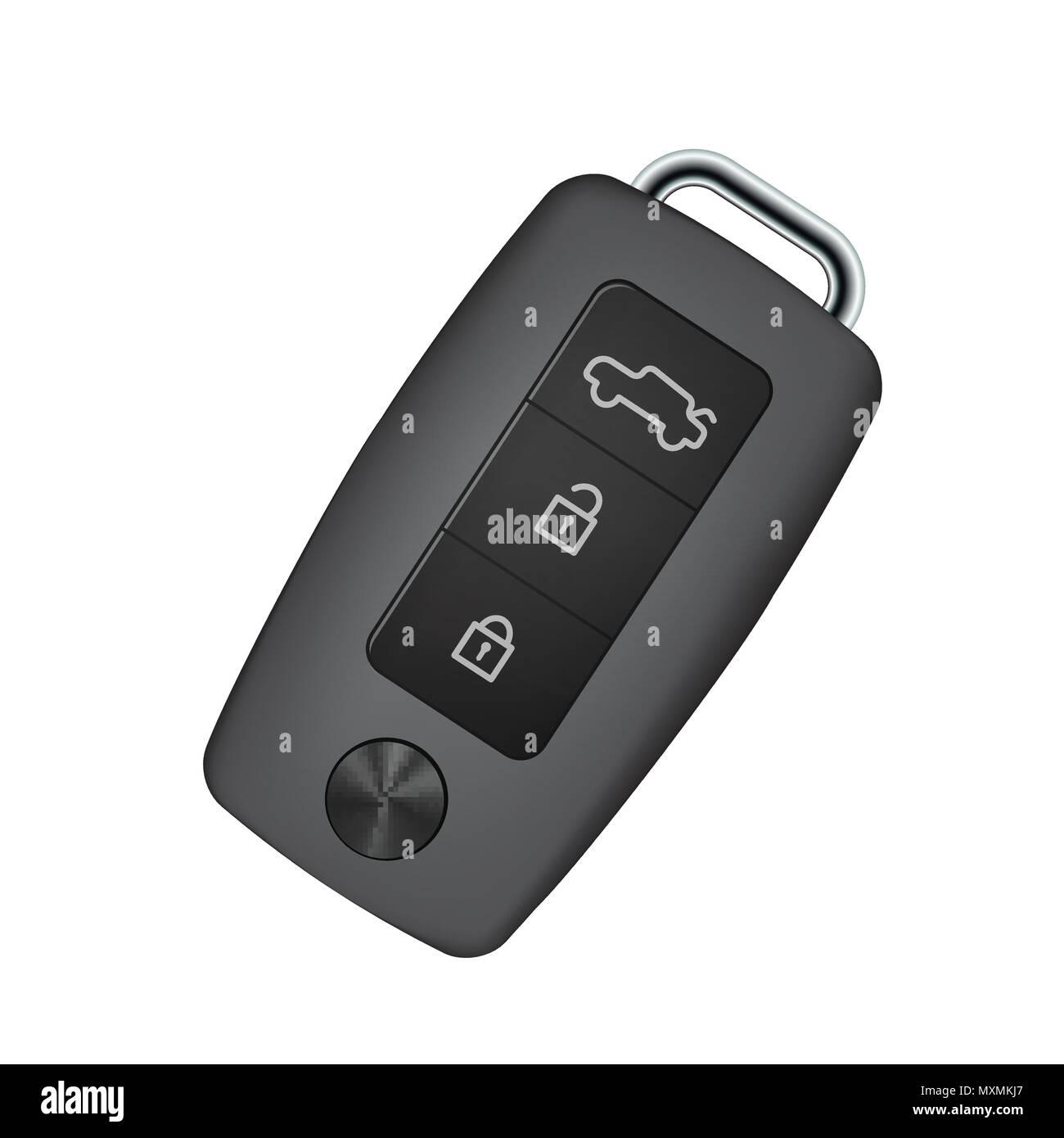 Car key - Stock Image