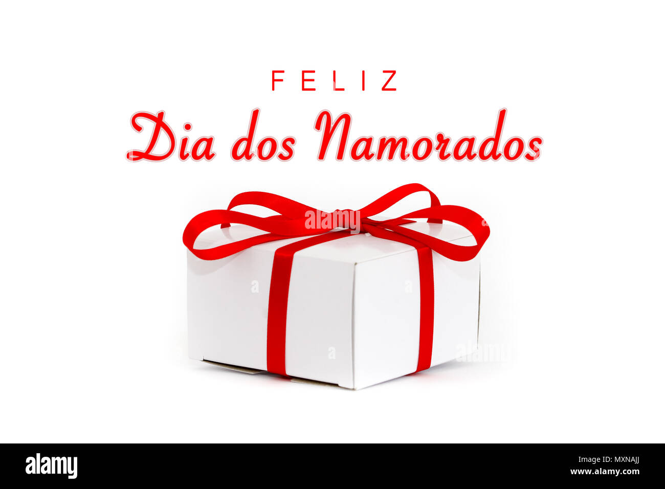 Feliz Dia Dos Namorados: Portuguese Language Cut Out Stock Images & Pictures