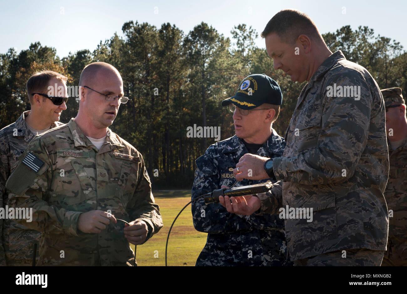 Tech. Sgt. Dwayne Ferugson, 628th Civil Engineer Squadron explosive ...