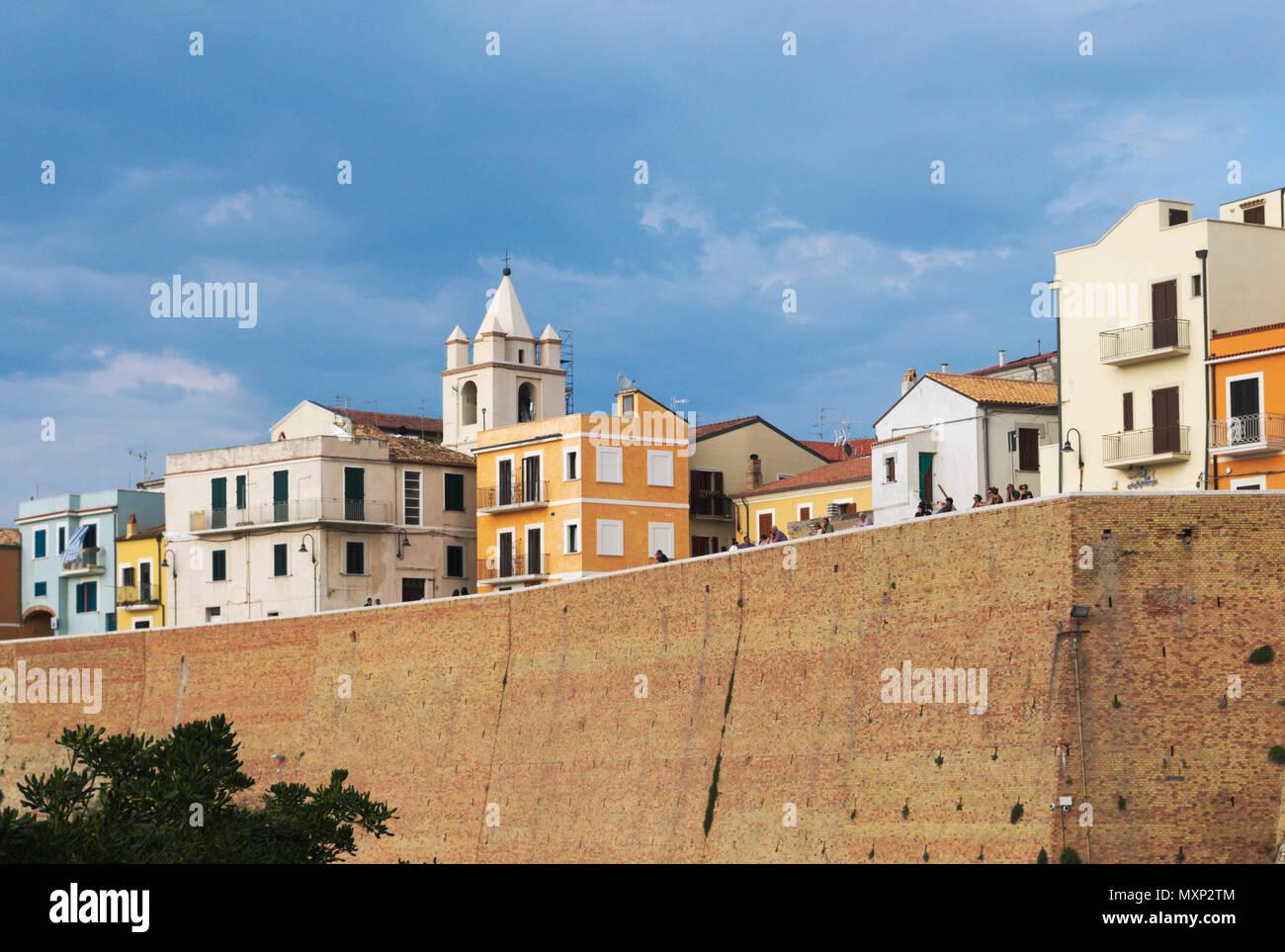 Termoli old town, Molise, Italy Stock Photo