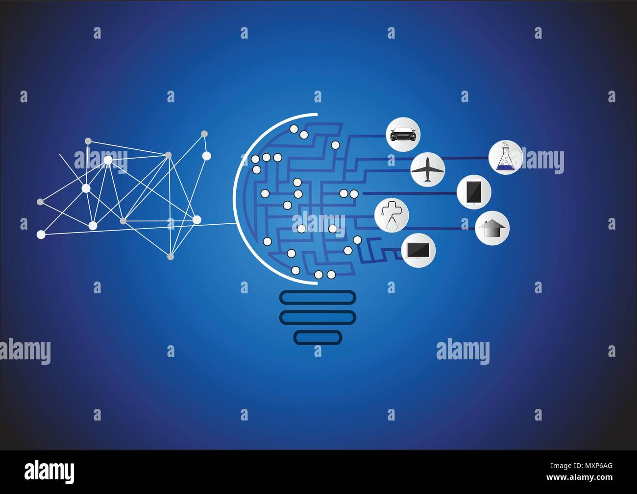 Invention Machine Stock Vector Images - Alamy