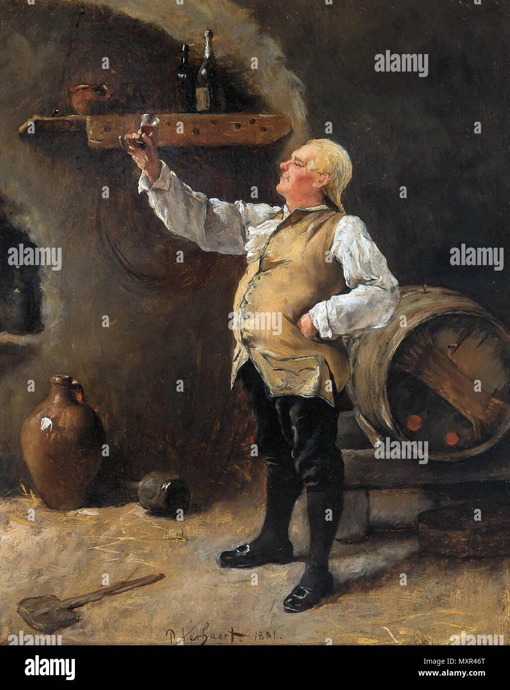 Verhaert Pieter - De Kenner - Stock Image