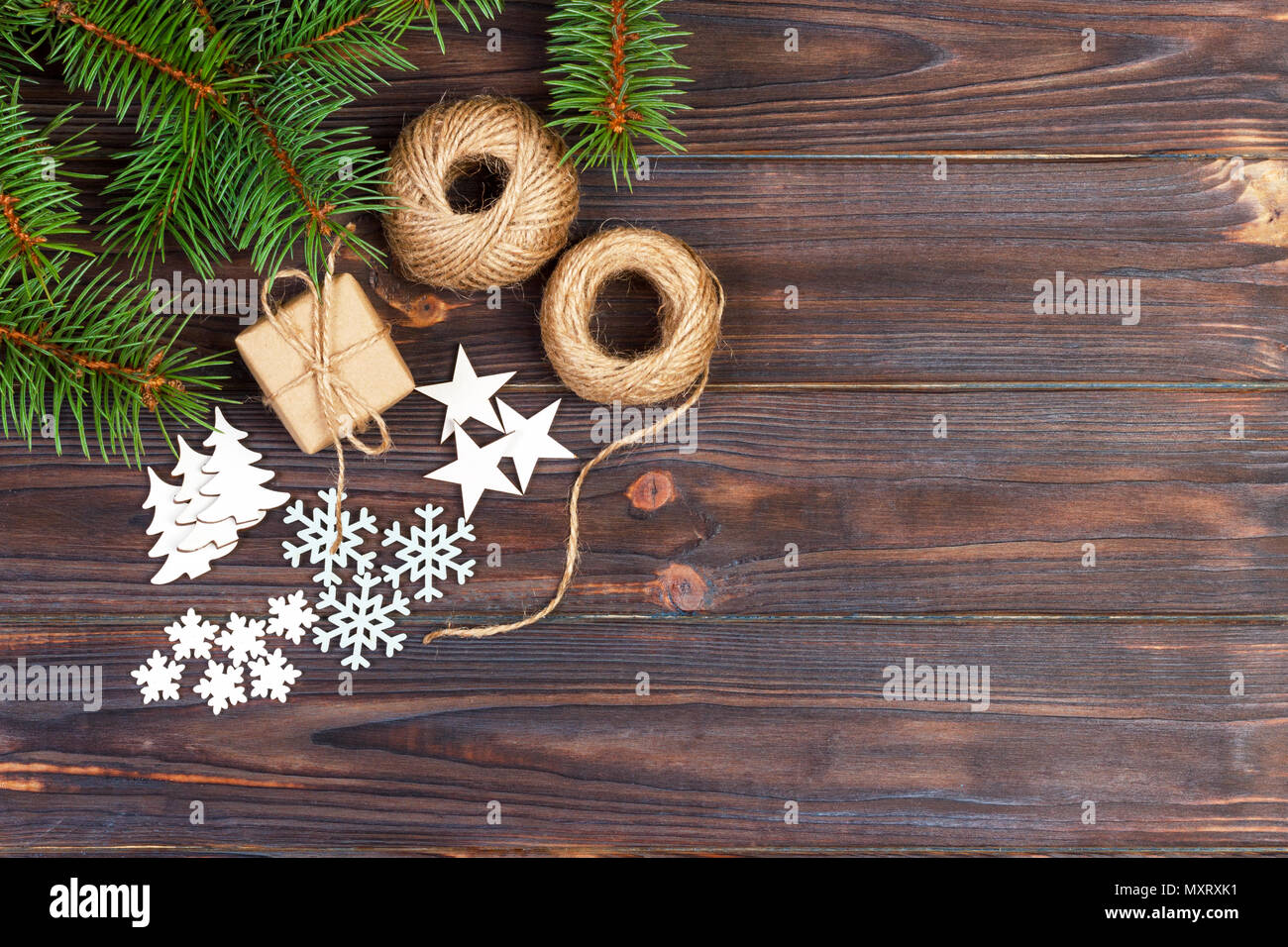 Wood craft rustic christmas background stock photos wood craft