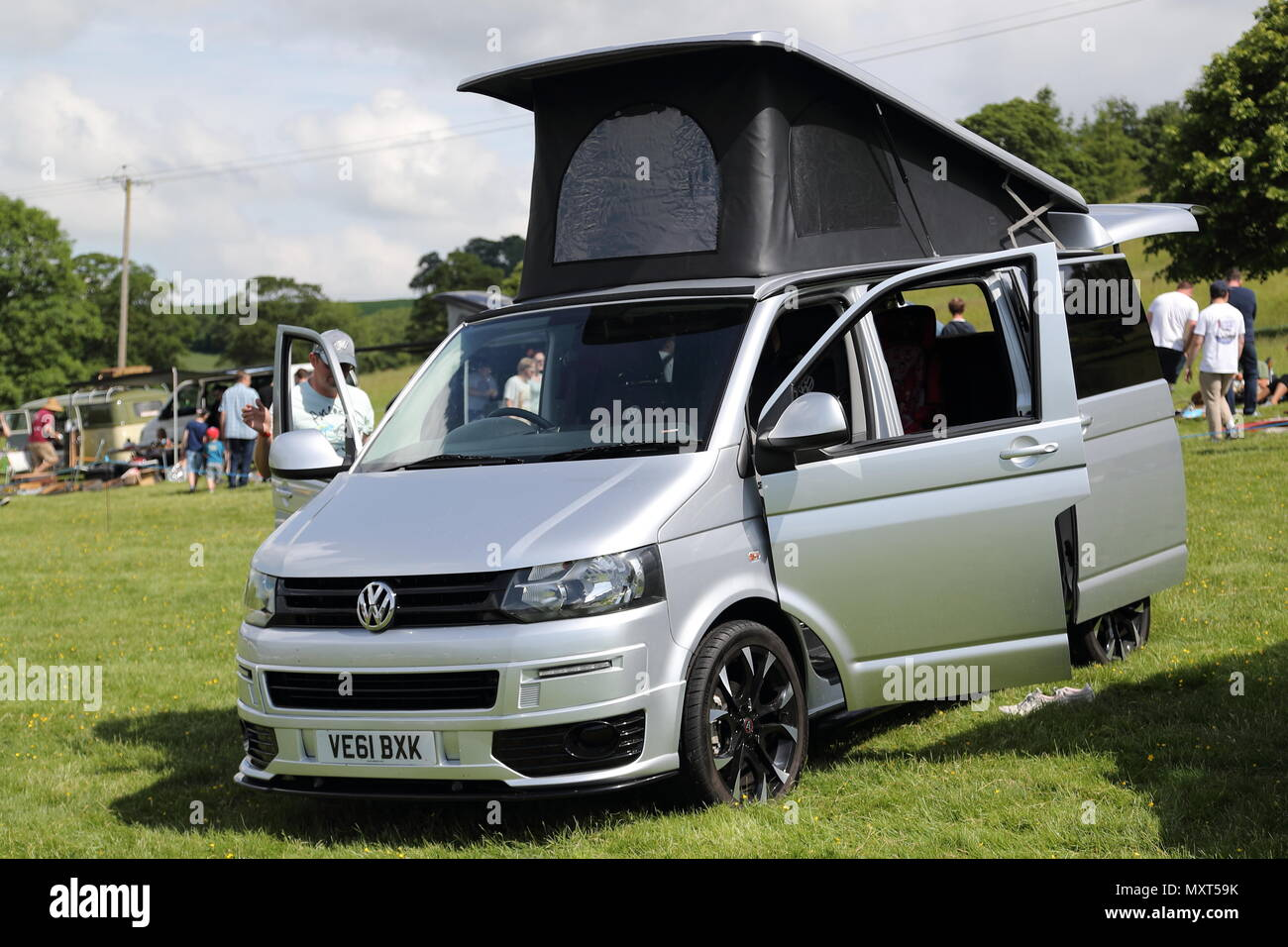 All Types Of Cars >> All Types Of Historic Volkswagen Cars And Vans Were Displayed At
