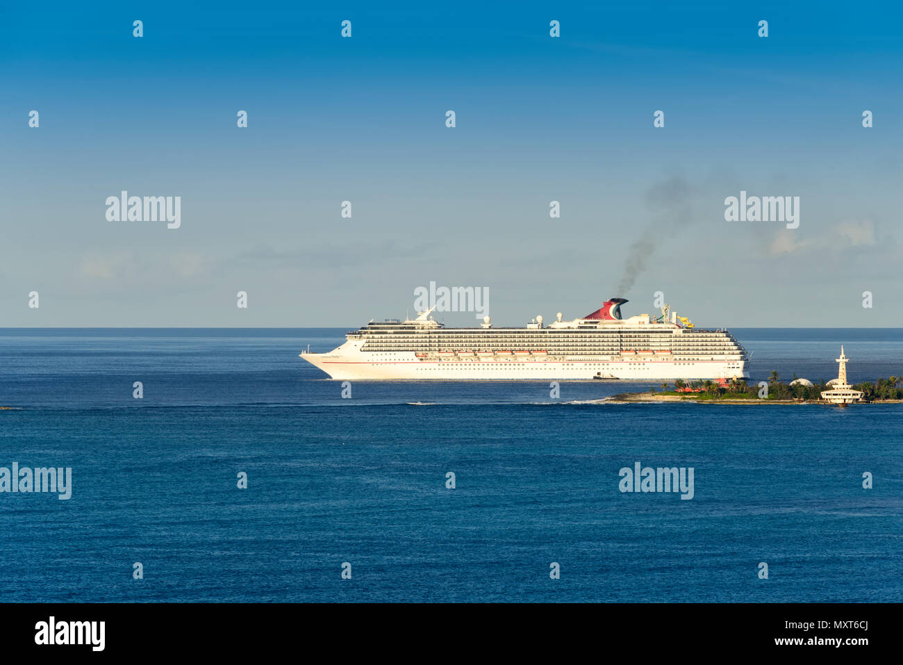 Carnival Cruise Lines Caribbean Stock Photos & Carnival