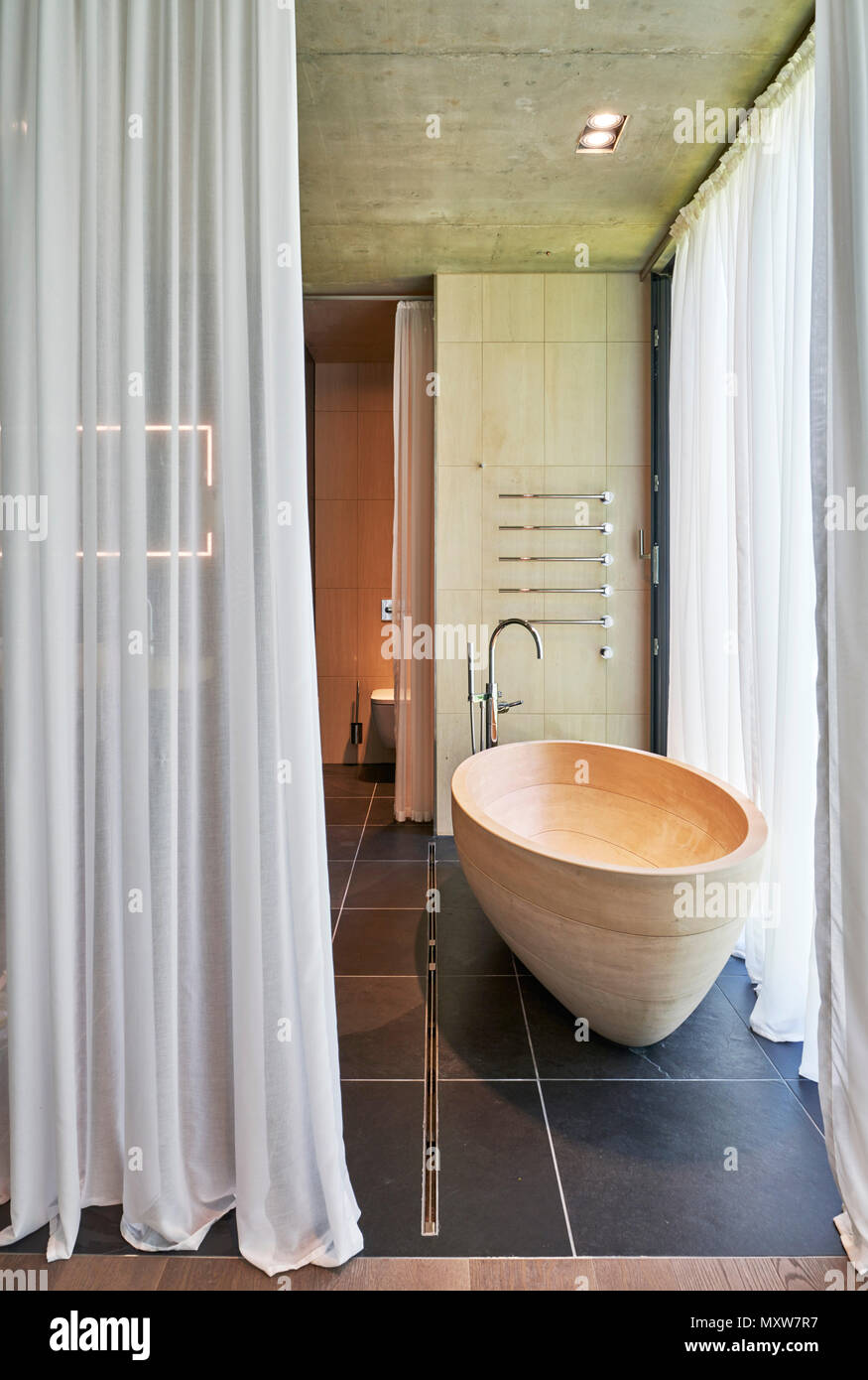 Badezimmer Villa Stock Photo