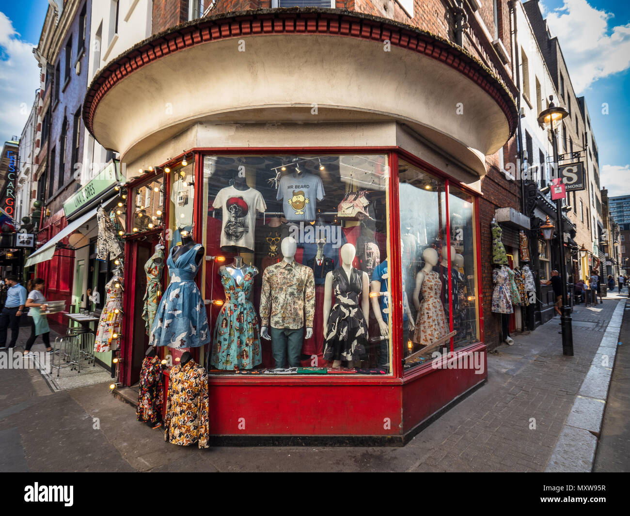 Vintage Soho London - Classical Soho - a vintage Clothes shop in London's  Fashionable and stylish Soho district