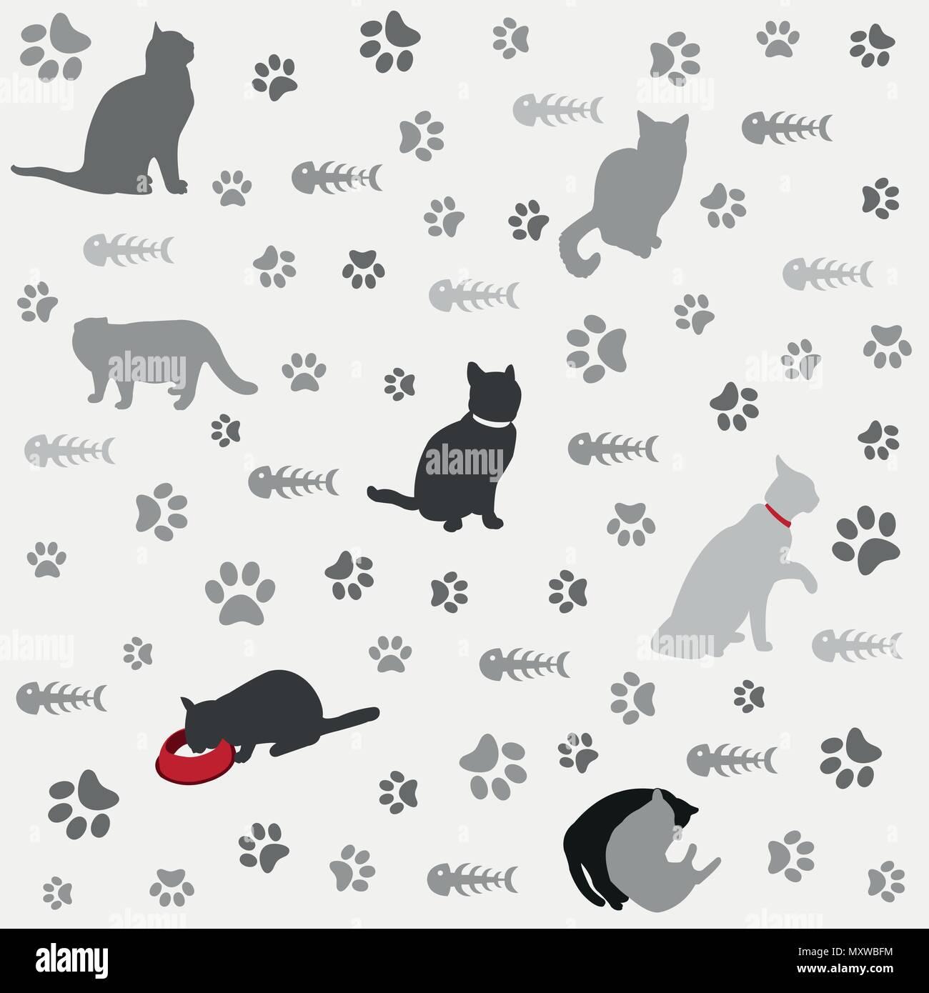 Cat Paw Print Stock Photos & Cat Paw Print Stock Images - Alamy