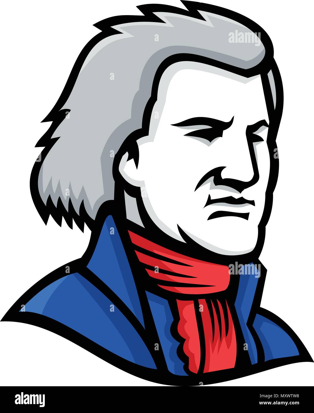 Thomas jefferson cartoon stock photos thomas jefferson cartoon