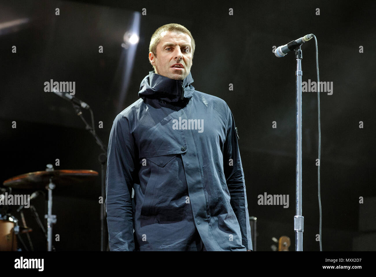 Singer Liam Gallagher Stock Photos Singer Liam Gallagher Stock