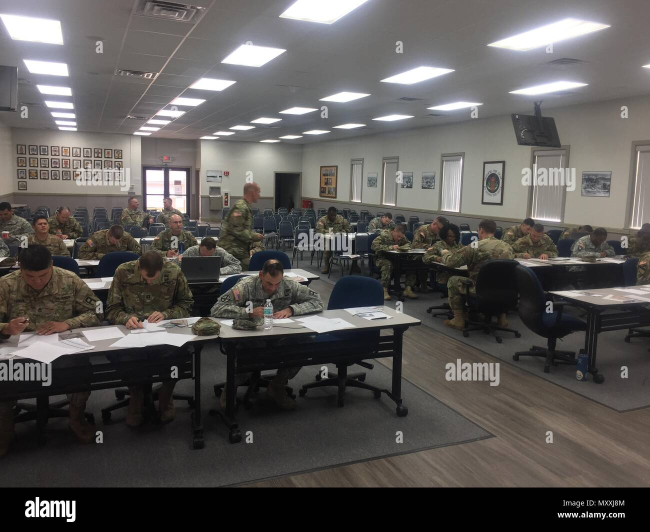 Thirty-five students from across 188th Infantry Brigade practice