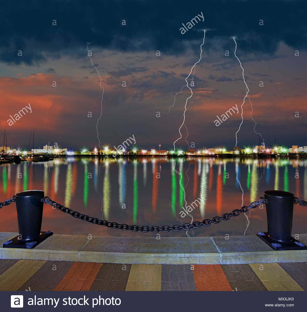 Harbor Lights: Lorain Stock Photos & Lorain Stock Images