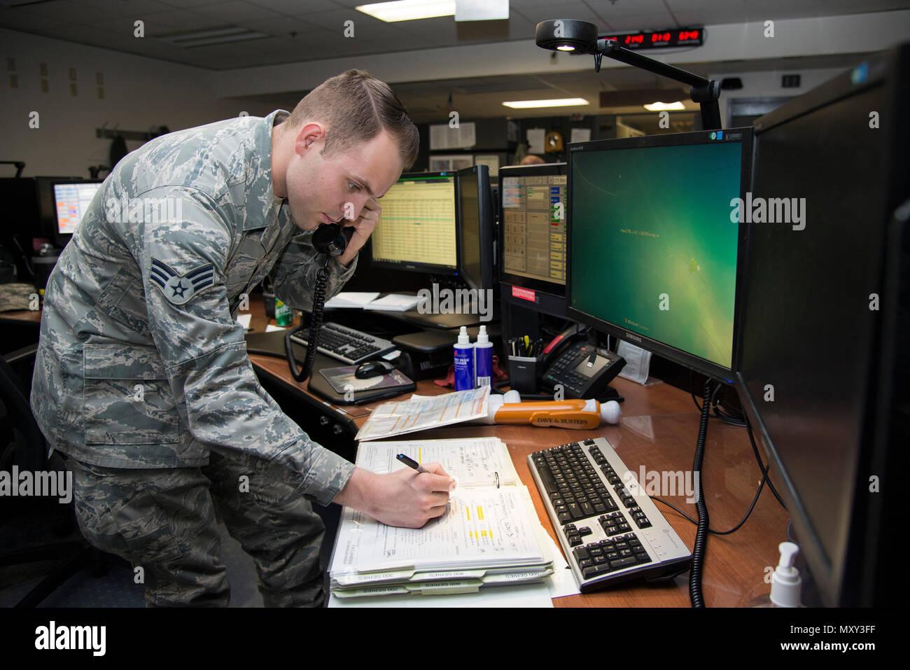 Senior Airman Thomas Ozman, 436th Airlift Wing Command Post