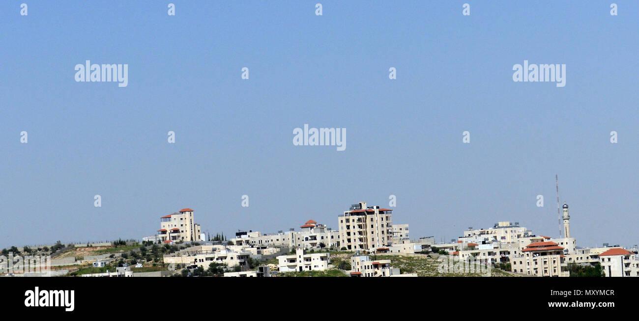 A Palestinian village South of Beit Lechem. - Stock Image