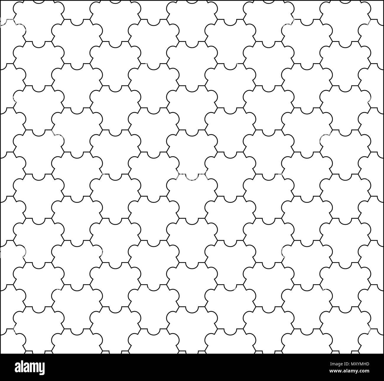 Vector Modern Seamless Geometry Tessellation Pattern Abstract G