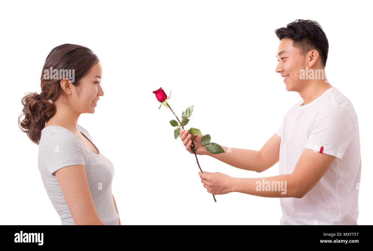 Flirt Cut Out Stock Images & Pictures - Alamy