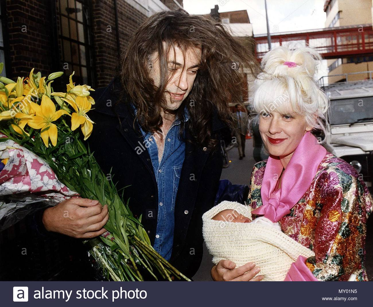 Bob Geldof speaks of Paula's death