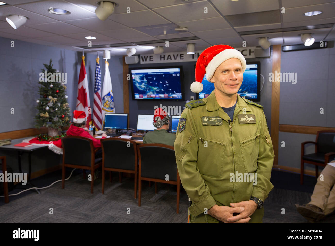 Canadian Air Force Maj. Gen. Christopher Coates, the North American ...
