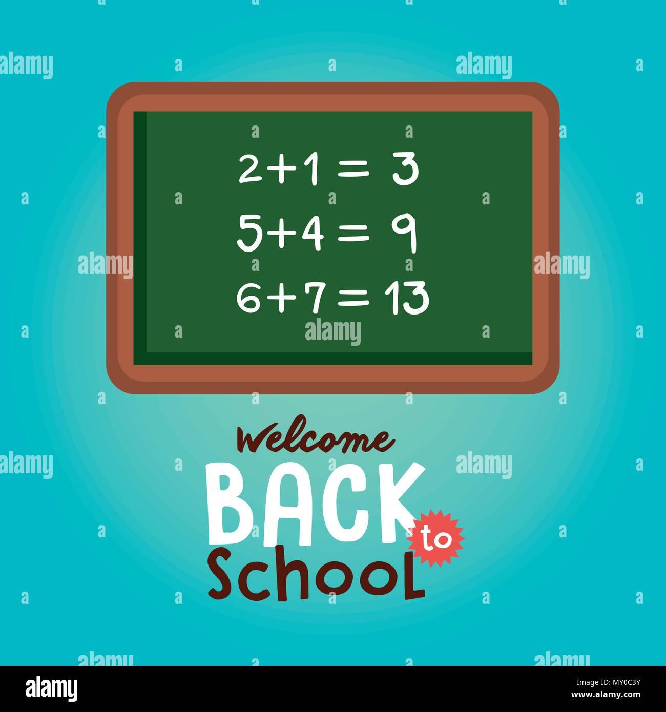 Math Class Stock Vector Images - Alamy