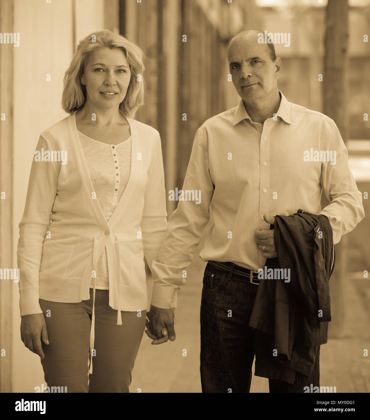 Mature style couple