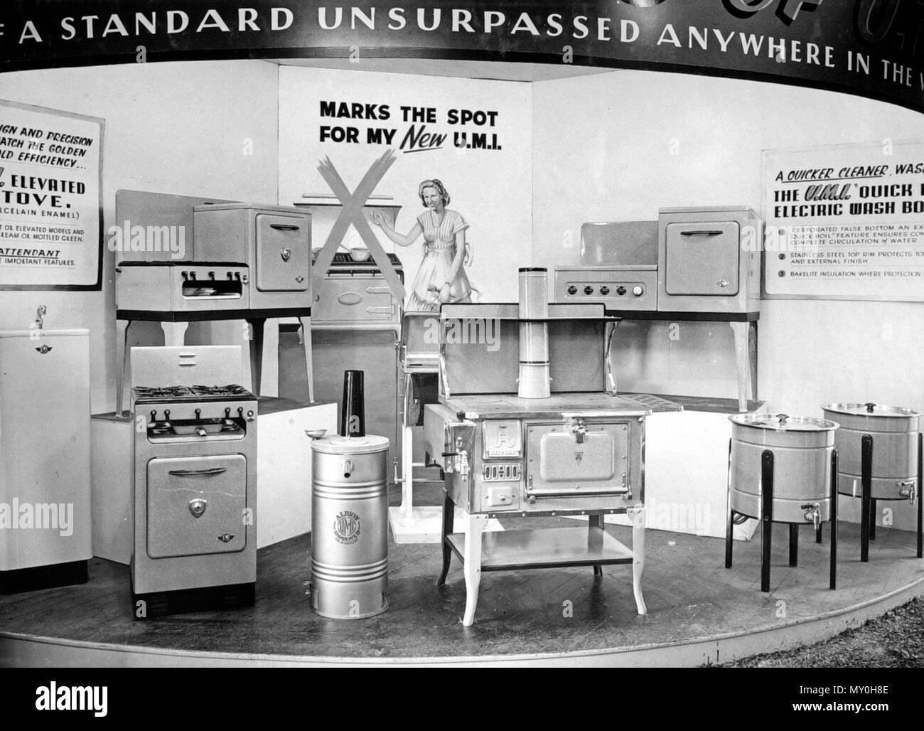 Display Of Kitchen Appliances At Queensland Industrial Fair