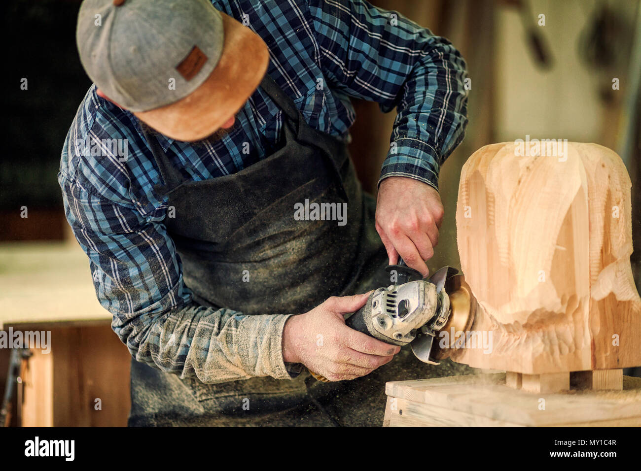 Countryside Carpenter Stock Photos Amp Countryside Carpenter