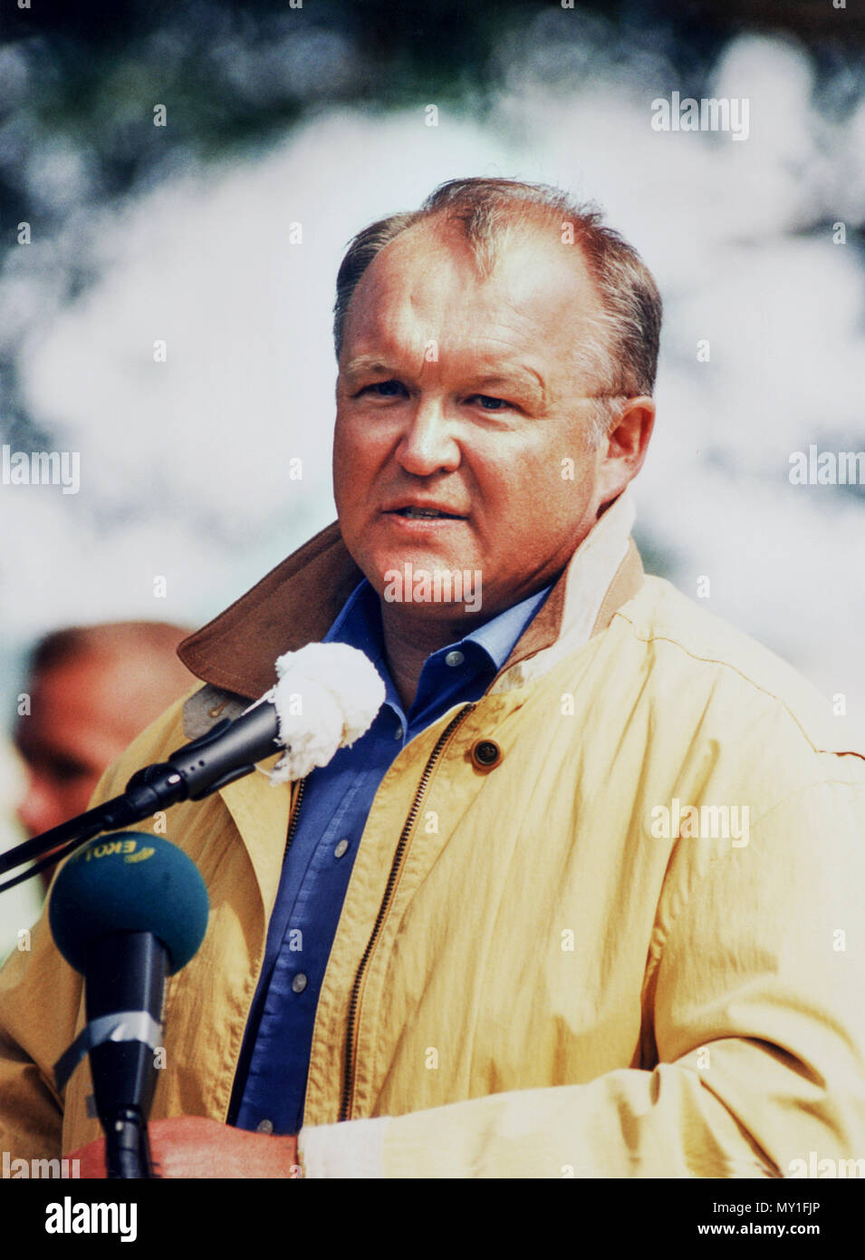 GÖRAN PERSSON former Swedish Prime minister resigned 2004 Social Democrat - Stock Image