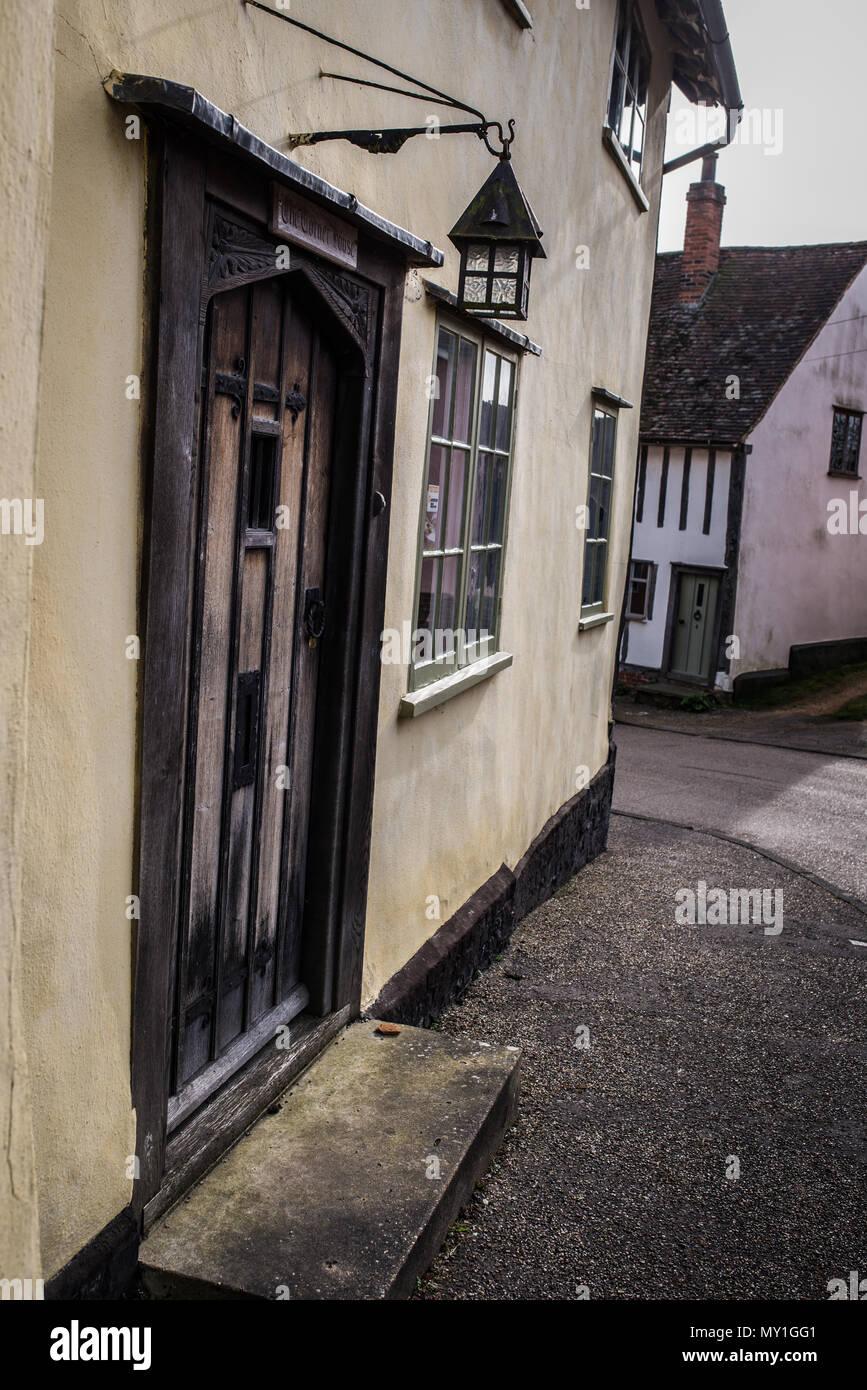 Photographs of Kersey village near Ipswich, Suffolk, UK Stock Photo