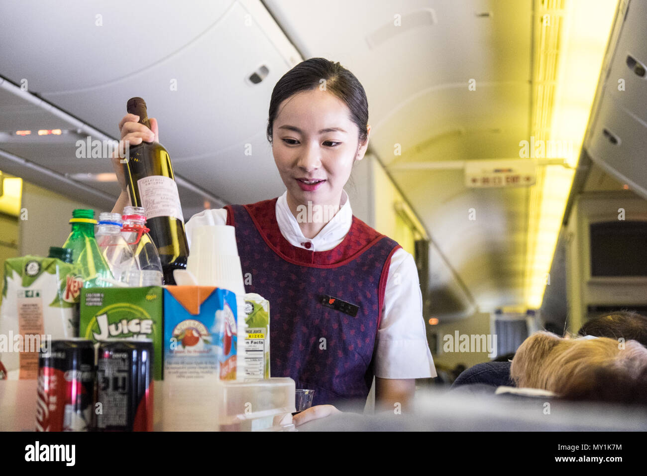 190 airline stewardess with long legs sweet feet and ass - 3 3